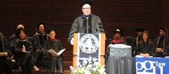 William Audet Receiving Honorary Degree from Golden Gate University School of Law on May 17, 2013